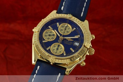 BREITLING CHRONOMAT CHRONOGRAPHE OR 18 CT AUTOMATIQUE KAL. B13 ETA 7750 LP: 23030EUR [150187]