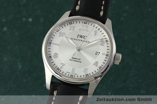 IWC MARK XVI STEEL AUTOMATIC KAL. 30110 LP: 4340EUR [150199]