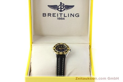 BREITLING LADY J CLASS STAHL / GOLD DAMENUHR TOP D52065 VP: 2290,- EURO [150231]