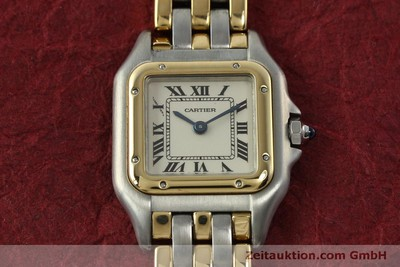 CARTIER PANTHERE STEEL / GOLD QUARTZ KAL. 057 [150232]