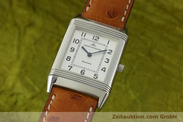 JAEGER LE COULTRE REVERSO STEEL MANUAL WINDING KAL. 846 [150276]