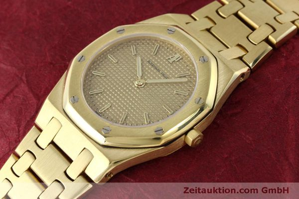 AUDEMARS PIGUET LADY 18K (0,750) GOLD ROYAL OAK DAMENUHR VP: 33900,- EURO [150306]