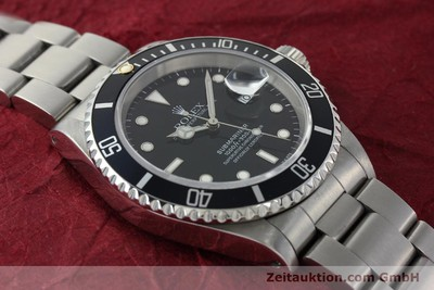 ROLEX SUBMARINER STEEL AUTOMATIC KAL. 3135 LP: 6000EUR [150310]