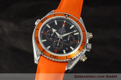 OMEGA SEAMASTER PLANET OCEAN CO-AXIAL CHRONOGRAPH HERRENUHR VP: 6300,- EURO [150311]