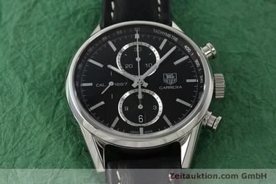 TAG HEUER CARRERA CHRONOGRAPH STEEL AUTOMATIC KAL. 1887 LP: 5000EUR [150313]