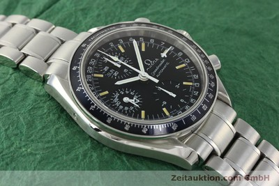 OMEGA SPEEDMASTER DAY-DATE CHRONOGRAPH AUTOMATIK STAHL VP: 3020,- EURO [150314]