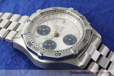 TAG HEUER AUTOMATIK CHRONOGRAPH PROFESSIONAL K2110 STAHL VP: 3500,- EURO [150315]