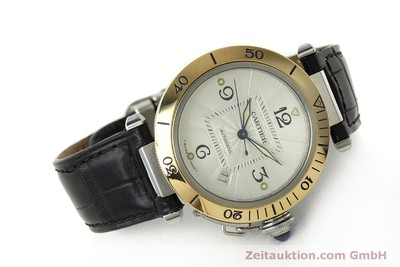 CARTIER PASHA STEEL / GOLD AUTOMATIC KAL. 191 LP: 5200EUR [150317]