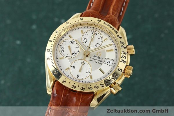 OMEGA SPEEDMASTER CHRONOGRAPHE OR 18 CT AUTOMATIQUE KAL. 1152 LP: 14200EUR [150321]