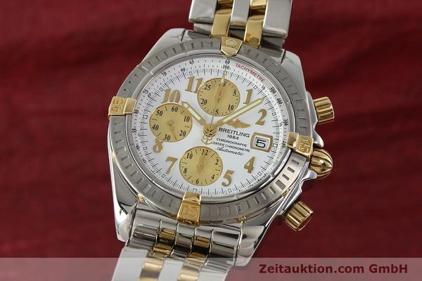 BREITLING EVOLUTION CHRONOGRAPHE ACIER / OR AUTOMATIQUE KAL. B13 ETA 7750 LP: 11380EUR [150322]
