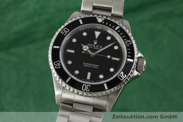 ROLEX SUBMARINER STEEL AUTOMATIC KAL. 3130 LP: 6000EUR [150324]