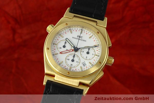 IWC INGENIEUR CHRONOGRAPH 18 CT GOLD QUARTZ KAL. 633 LP: 22600EUR [150326]