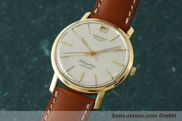 LONGINES FLAGSHIP 18 CT GOLD AUTOMATIC KAL. 341 LP: 6040EUR VINTAGE [150327]