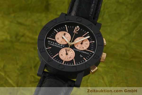 BVLGARI PORTO CERVO CHRONOGRAPH OTHERS QUARTZ KAL. ETA 251.471 [150328]