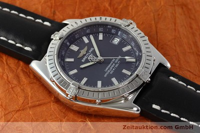 BREITLING WINGS STEEL AUTOMATIC KAL. B10 ETA 2892A2 LP: 3930EUR [150334]