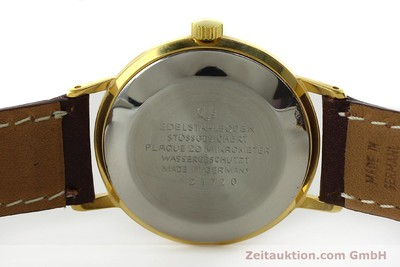 GLASHÜTTE SPEZIMATIC DORÉ AUTOMATIQUE KAL. 75 [150361]