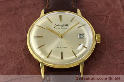 GLASHÜTTE SPEZIMATIC GOLD-PLATED AUTOMATIC KAL. 75 [150361]