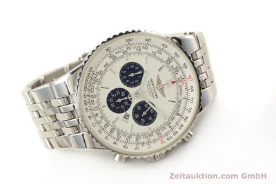 BREITLING NAVITIMER HERITAGE CHRONOGRAPH AUTOMATIK STAHL A35340 VP: 7860,- EURO [150391]