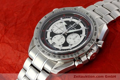 OMEGA SPEEDMASTER BROAD ARROW RATTRAPANTE 35825100 CO-AXIAL NP: 10840,- EURO [150394]