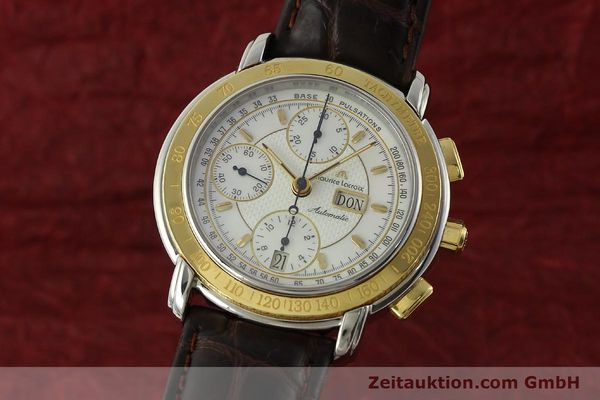 MAURICE LACROIX MASTERPIECE CHRONOGRAPH STEEL / GOLD AUTOMATIC KAL. ML67 ETA 7750 LP: 4900EUR [150410]