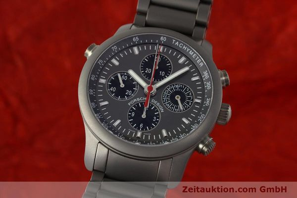 PORSCHE DESIGN DASHBORD CHRONOGRAPHE TITANE AUTOMATIQUE KAL. ETA LP: 6500EUR [150414]