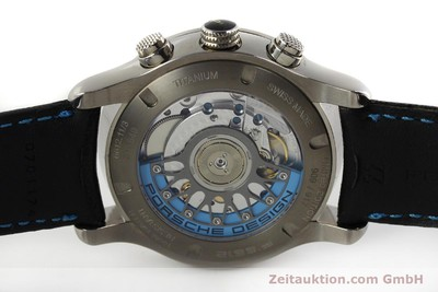 PORSCHE DESIGN DASHBORD CHRONOGRAPHE TITANE AUTOMATIQUE KAL. ETA 2894-2 LP: 4300EUR [150416]