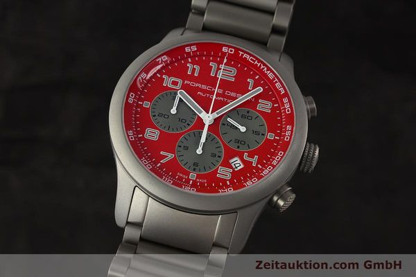 PORSCHE DESIGN DASHBORD CHRONOGRAPHE TITANE AUTOMATIQUE KAL. ETA 2894-2 LP: 4300EUR [150417]