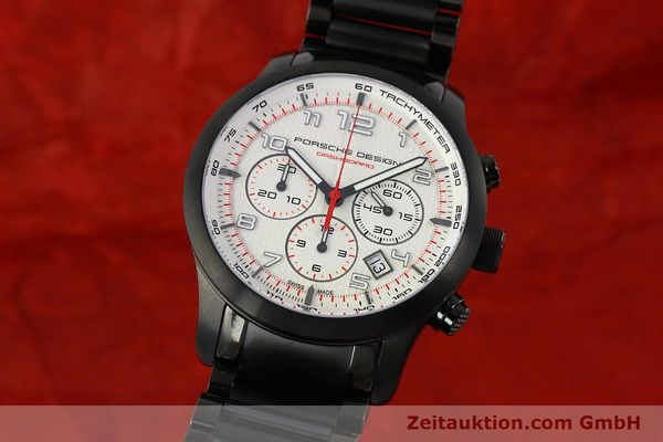 PORSCHE DESIGN DASHBORD CHRONOGRAPHE TITANE AUTOMATIQUE KAL. ETA 2894-2 LP: 4300EUR [150418]