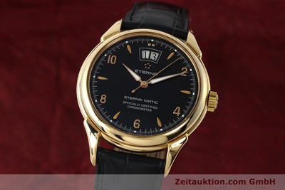 ETERNA 1948 18 CT GOLD AUTOMATIC KAL. ETA 2892 A2 LP: 12500EUR [150421]