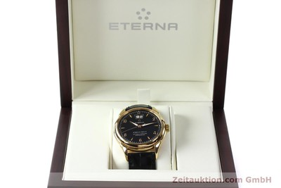 ETERNA 1948 BIG DATE 18K GOLD AUTOMATIK HERRENUHR 608.8425.69 VP: 12500,- EURO [150421]