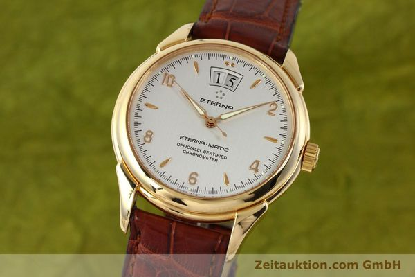 ETERNA 1948 18 CT GOLD AUTOMATIC KAL. ETA 2892 A2 LP: 12500EUR [150422]