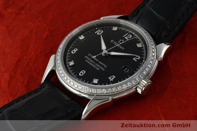 ETERNA MATIC 1948 AUTOMATIK DAMEN / HERRENUHR 633.8423.41 DIAMANTEN NP: 5600,- Euro [150423]