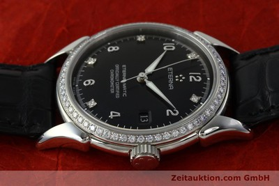 ETERNA 1948 STEEL AUTOMATIC KAL. ETA 2824-2 LP: 5600EUR [150423]