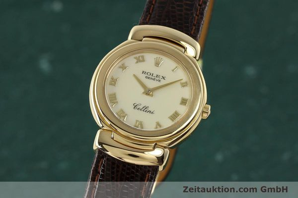 ROLEX LADY CELLINI 18K (0,750) GOLD DAMENUHR 6621 VP: 8200,- EURO [150429]