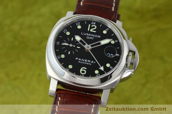 PANERAI LUMINOR GMT STEEL AUTOMATIC KAL. A05571 LP: 6600EUR [150431]