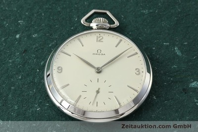 OMEGA TASCHENUHR STEEL MANUAL WINDING KAL. 161 [150437]