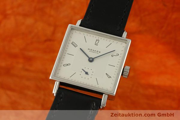 NOMOS TETRA STEEL MANUAL WINDING KAL. ETA 7001 LP: 1440EUR [150439]