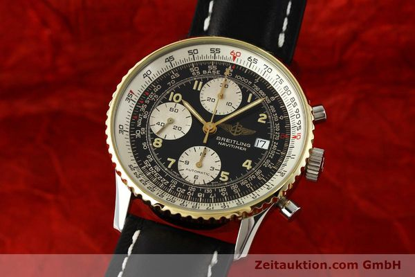 BREITLING NAVITIMER CHRONOGRAPH STEEL / GOLD AUTOMATIC KAL. B13 ETA 7750 [150450]