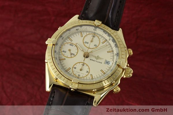 BREITLING CHRONOMAT CHRONOGRAPHE OR 18 CT AUTOMATIQUE KAL. VALJ. 7750 LP: 23030EUR [150451]