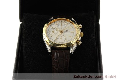 OMEGA SPEEDMASTER DAY-DATE CHRONOGRAPH STAHL / GOLD AUTOMATIK VP: 3020,- Euro [150454]