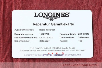 LONGINES LA GRANDE CLASSIQUE OR 18 CT QUARTZ KAL. 1569.2 ETA 255412 LP: 2030EUR [150475]