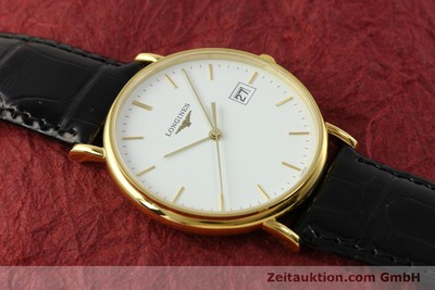 LONGINES LA GRANDE CLASSIQUE 18K GOLD HERRENUHR L4.743.6 MEDIUM NP: 2030,- EURO [150475]