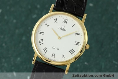 OMEGA DE VILLE OR 18 CT QUARTZ KAL. 1378 ETA 210001 LP: 7340EUR [150492]