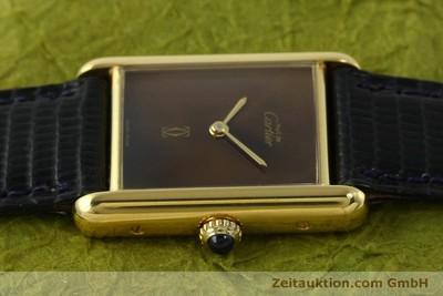CARTIER TANK SILVER-GILT MANUAL WINDING KAL. 78-1 ETA 2512-1 [150495]