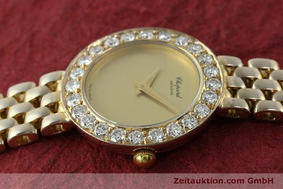 CHOPARD 18 CT GOLD QUARTZ KAL. 608 [150498]