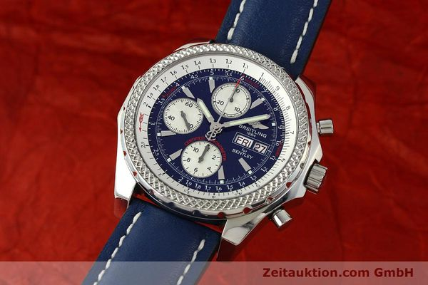 BREITLING FOR BENTLEY MOTORS CHRONOGRAPH AUTOMATIK STAHL A13362 VP: 7760,- EUR [150508]