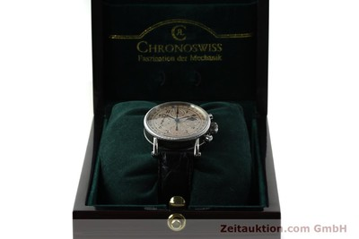 CHRONOSWISS LUNAR CHRONOGRAPH STEEL AUTOMATIC KAL. 741 LP: 6150EUR [150509]