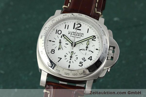 PANERAI LUMINOR CHRONO DAYLIGHT CHRONOGRAPHE ACIER AUTOMATIQUE KAL. ETA 7753 LP: 7400EUR  [150510]
