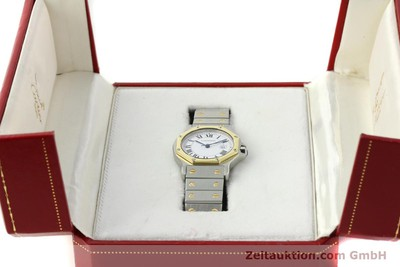 CARTIER SANTOS STEEL / GOLD AUTOMATIC KAL. ETA 2671 LP: 7100EUR [150513]