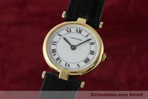 CARTIER VENDOME ORO 18 CT QUARZO KAL. 81 [150523]